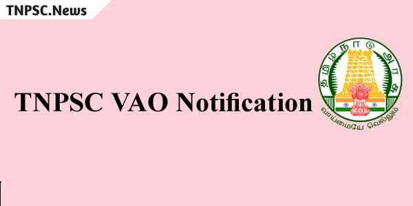 TNPSC VAO Notification