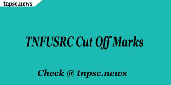 TNFUSRC Cut Off Marks